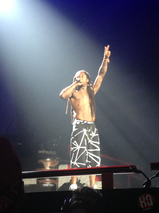 Lil Wayne Performs Live In Baltimore On Americas Most Wanted Tour