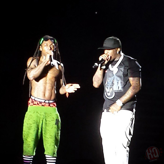 Lil Wayne Performs Live In Bangor On Americas Most Wanted Tour