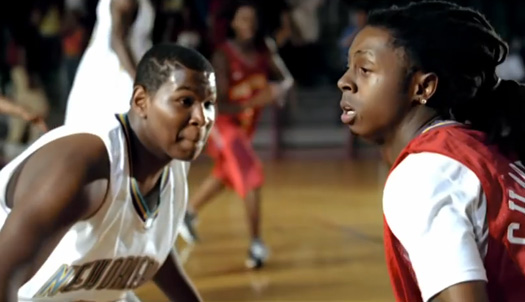 Lil Wayne Shows Off His Basketball Skills