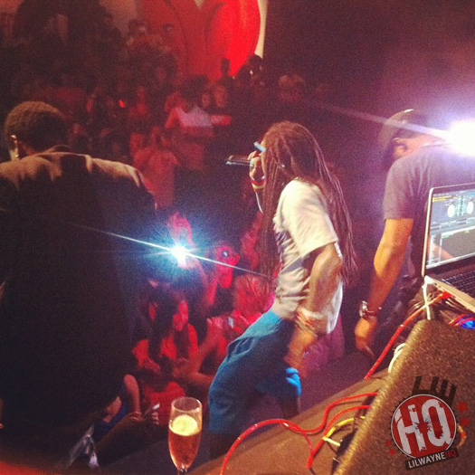 Beats By Dre Put On A Party For Lil Wayne To Celebrate Their New Partnership