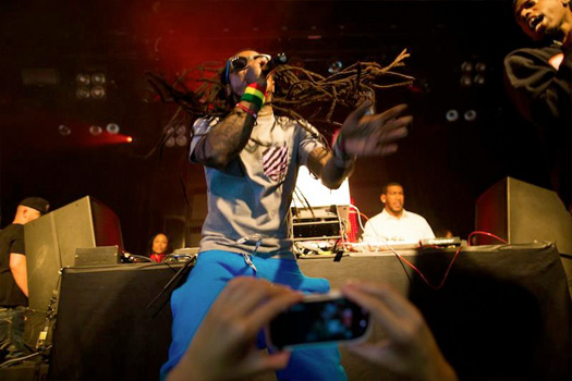 Pictures Of Lil Wayne Performing At Beats By Dre Party In Los Angeles