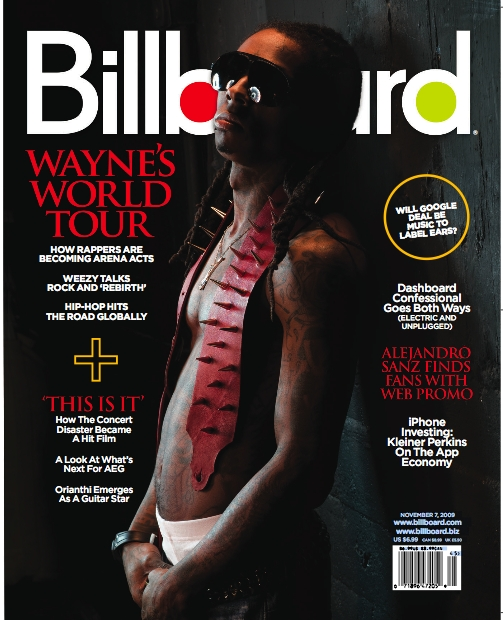 Lil Wayne Covers Billboard Magazine + Info On Rebirth