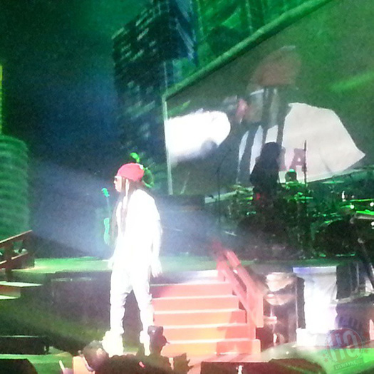 Lil Wayne se apresenta ao vivo em Birmingham Americas Most Wanted Tour