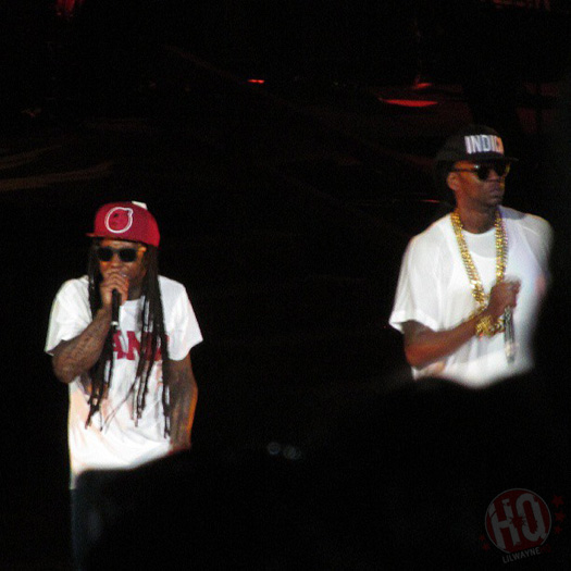 Lil Wayne Performs Live In Birmingham On Americas Most Wanted Tour