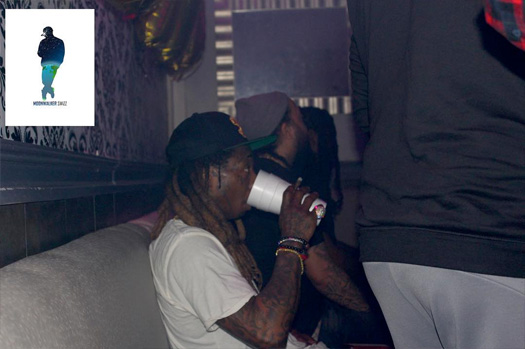 Lil Wayne Attends Birthday Bash At Oasis Long Island Nightclub In New York