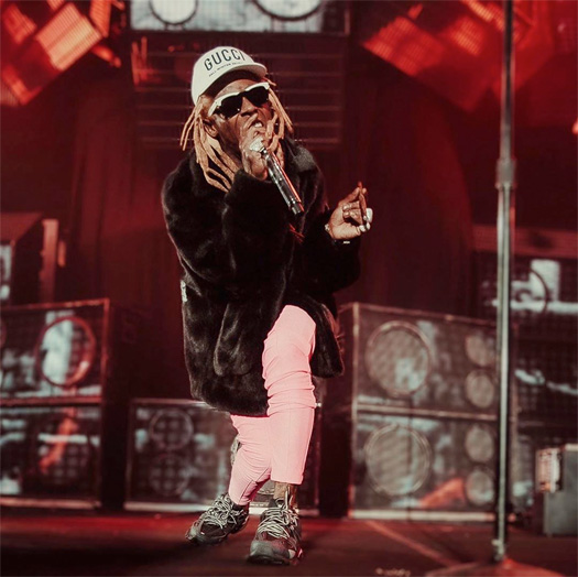 Lil Wayne & Blink 182 Perform A Mashup Of A Milli & Whats My Age Again Live On Tour