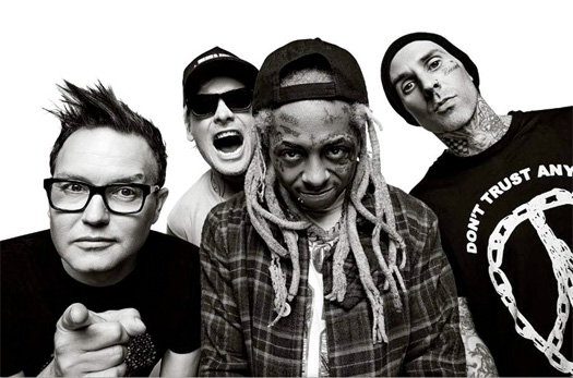 Lil Wayne & Blink 182 Perform A Mashup Of A Milli & Whats My Age Again