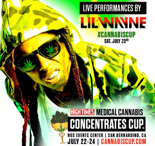 Lil Wayne & BoB To Headline The 2016 HIGH TIMES Medical Cannabis Concentrates Cup