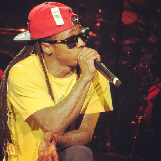 Lil Wayne Performs Live In Boston On Americas Most Wanted Tour