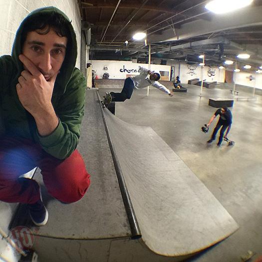 Lil Wayne Hits Up Brandon Biebel Private Indoor Skatepark In Los Angeles