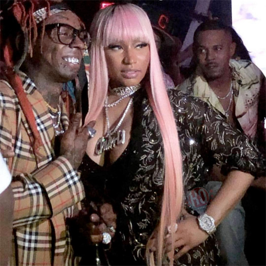 Lil Wayne Brings In 2019 With Nicki Minaj & 2 Chainz At LIV In Miami