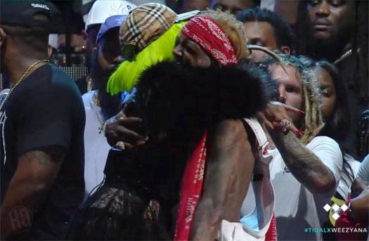 Lil Wayne Brings Out Nicki Minaj During His 4th Annual Lil Weezyana Fest