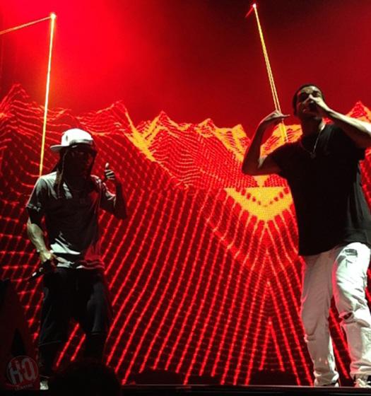 Lil Wayne & Drake Perform Live In Bristow Virginia On Their Joint Tour