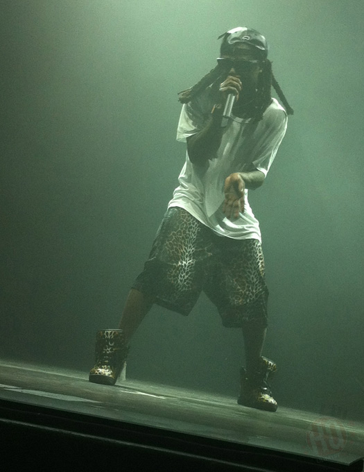 Lil Wayne Performs Live In Burgettstown Pennsylvania On His Joint Tour With Drake