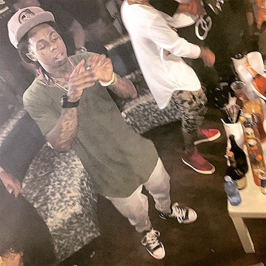 Lil Wayne Calls Himself The Best Rapper Alive At Club Skye In Tampa