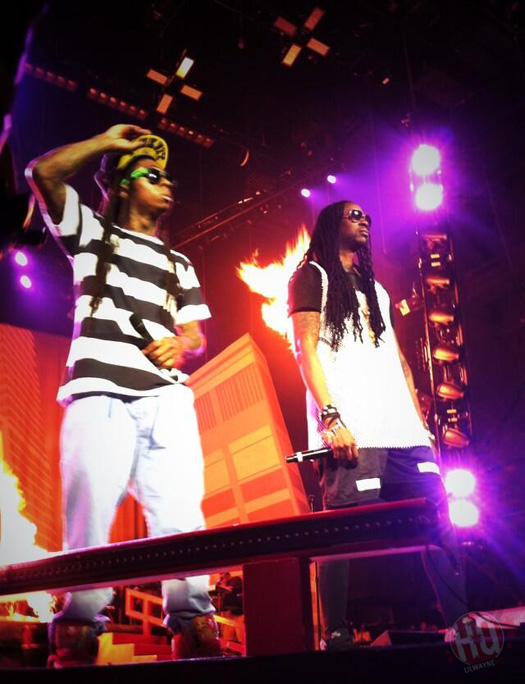 Lil Wayne Performs Live In Camden On Americas Most Wanted Tour