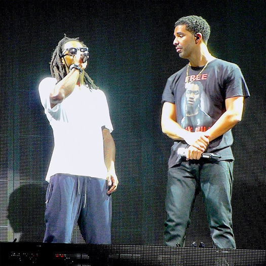 Lil Wayne & Drake Perform Live In Camden New Jersey On Their Joint Tour