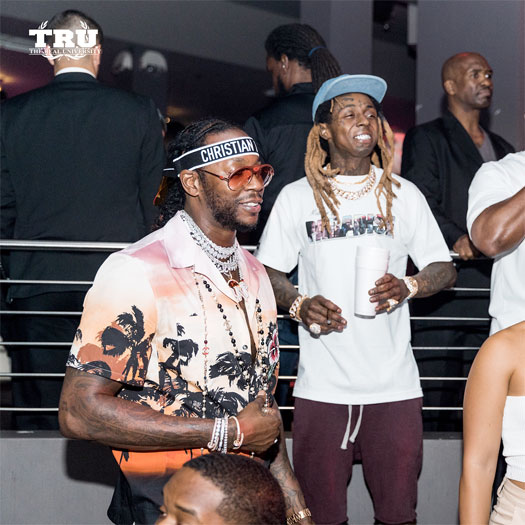 Lil Wayne Cancels 2018 Panorama Music Festival Set, Heads To STORY Nightclub Wearing A Walking Brace