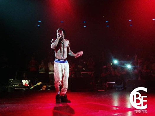 Lil Wayne Performs Live At Carter Fund Charity Concert In Arizona