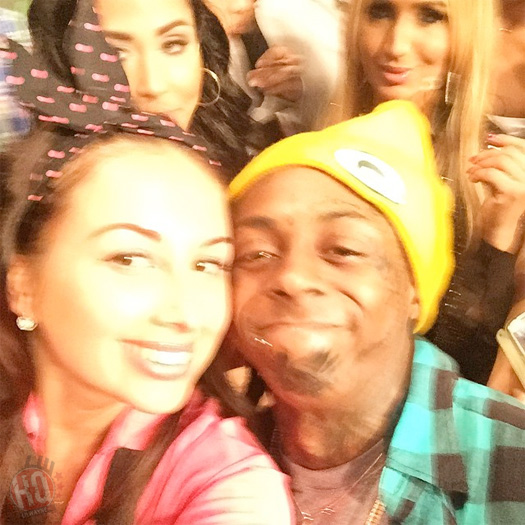 Lil Wayne Celebrates The Green Bay Packers Win At LIV Nightclub In Miami
