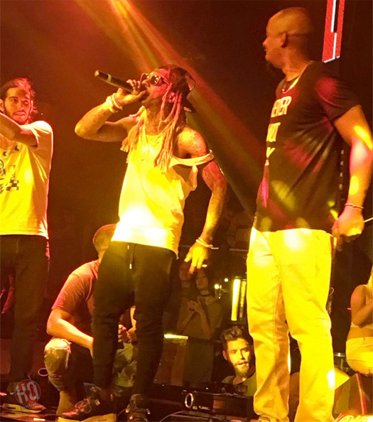 Lil Wayne Celebrates His Birthday & Performs Im On One, No Problem & More At STORY Nightclub