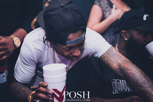 Lil Wayne Celebrates Cinco De Mayo At IVY Nightclub In Miami With His Young Money Artists