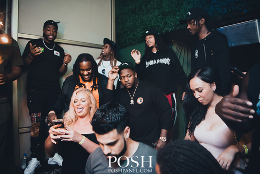 Lil Wayne Celebrates Independence Day Weekend At IVY Nightclub In Miami With His Young Money Artists