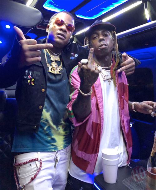 Lil Wayne Celebrates The Release Of Tha Carter V With His Daughter, Busta Rhymes, Meek Mill & More