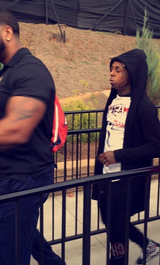 Lil Wayne Celebrates His Son Dwayne Michael Carter III 7th Birthday At Six Flags In Atlanta