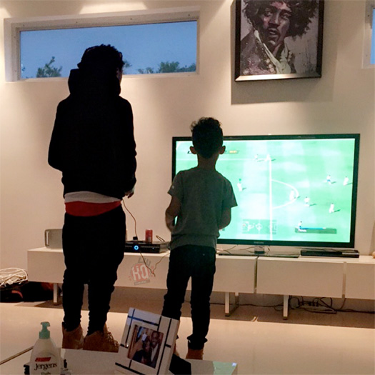 Lil Wayne Celebrates His Son Lil Tuney 9th Birthday