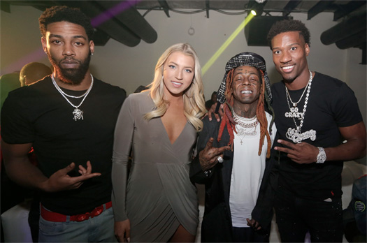 Lil Wayne Celebrates The Success Of His Young Money Sports Agency In Atlanta
