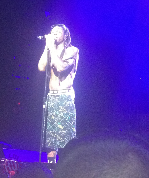 Lil Wayne Performs Live In Charlotte On Americas Most Wanted Tour