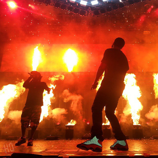 Lil Wayne & Drake Perform Live In Charlotte North Carolina On Their Joint Tour