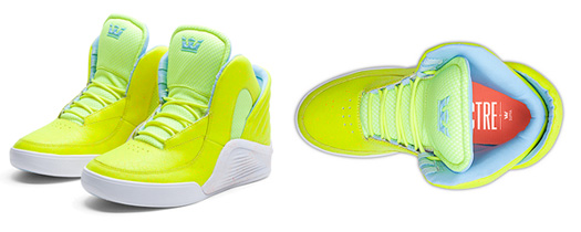 Lil Wayne Highlighter Yellow & Turquoise Chimera Sneakers Now Available To Buy