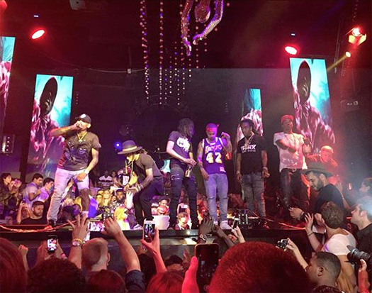 Lil Wayne & Chris Brown Perform How Many Times & More Live At STORY Nightclub In Miami