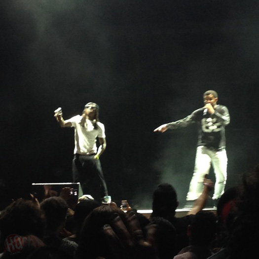 Lil Wayne & Drake Perform Live In Chula Vista California On Their Joint Tour