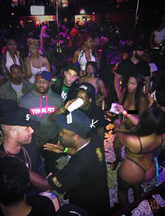 Lil Wayne Celebrated CIAA Weekend At CAMEO Nightclub In Miami