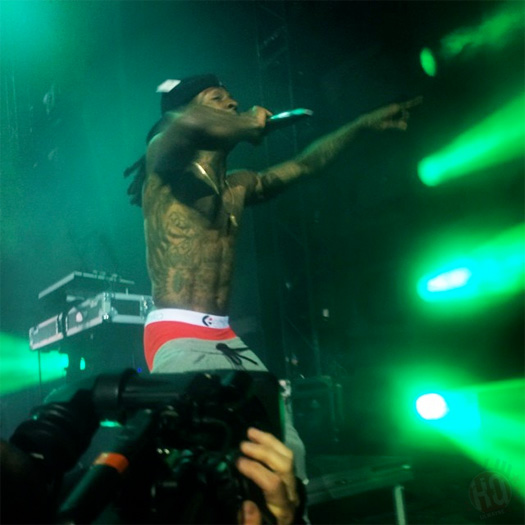 Lil Wayne Performs Songs From His No Ceilings Mixtape In Cincinnati