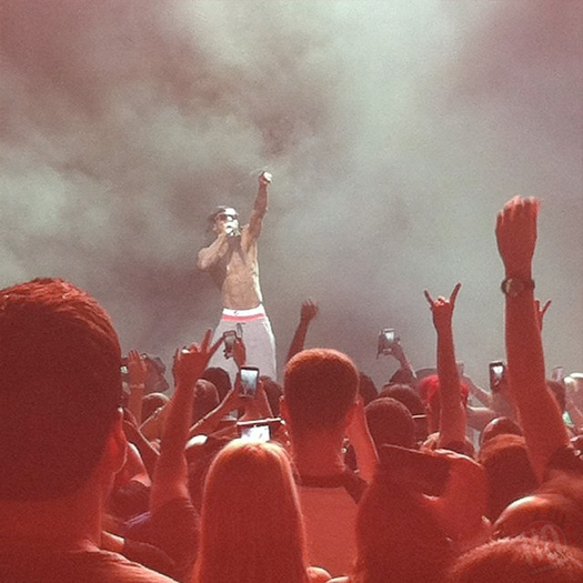 Lil Wayne Performs Live In Cincinnati Ohio On His Joint Tour With Drake