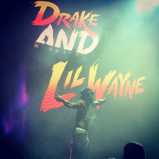 Lil Wayne Performs Live In Clarkston Michigan On His Joint Tour With Drake
