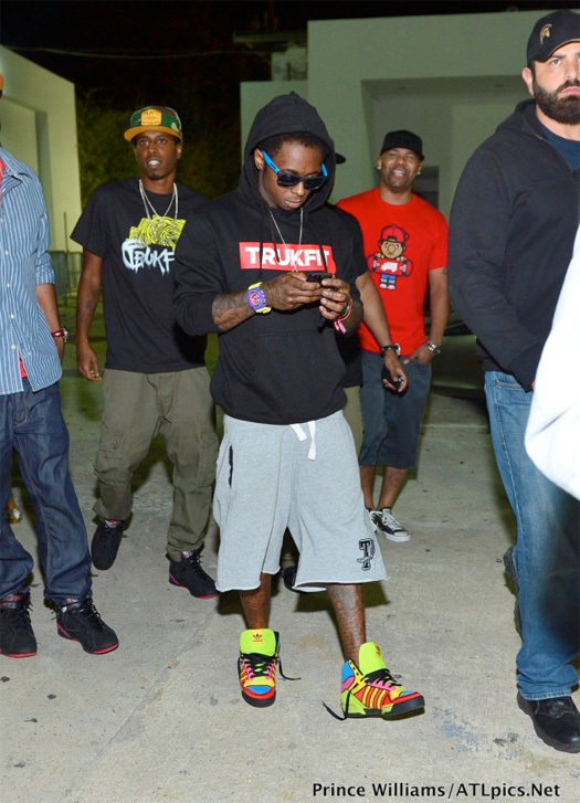 Lil Wayne Parties At Club Compound In Atlanta