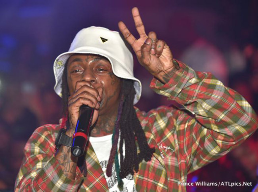 Lil Wayne Parties At Compound Nightclub In Atlanta Before His Tour Bus Gets Shot At