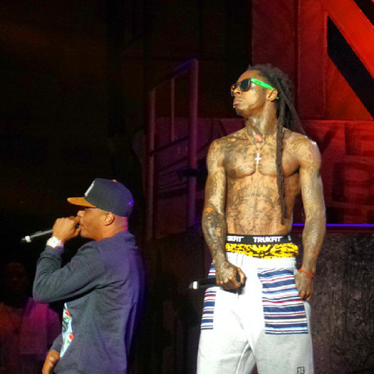 Lil Wayne Performs Live In Concord On Americas Most Wanted Tour