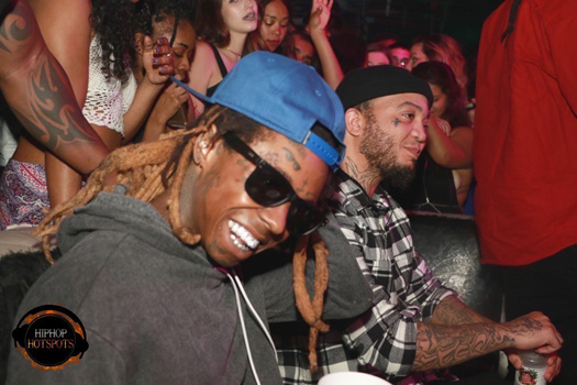 Lil Wayne Parties At Copa Room In Miami With ASAP Ferg