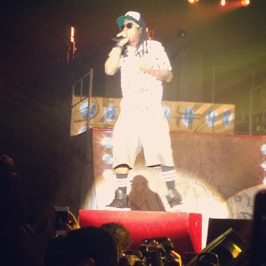 Lil Wayne Performs Live In Copenhagen Denmark On His European Tour