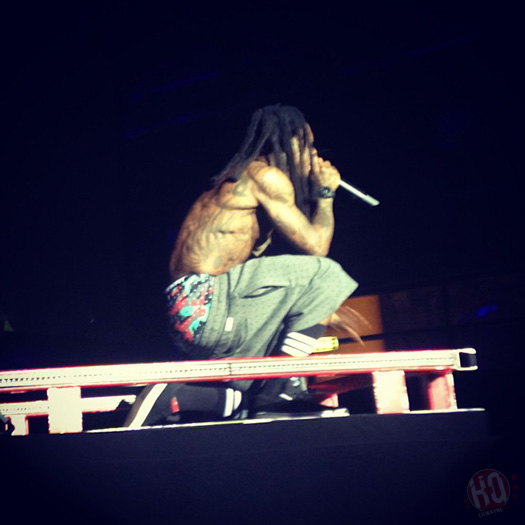 Lil Wayne Performs Live In Copenhagen Denmark On His European Tour