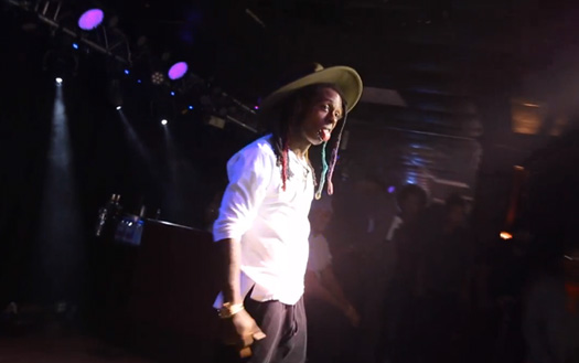 Watch A Recap Of Lil Wayne Attending Crusen's Farmington In West Peoria With Christina Milian