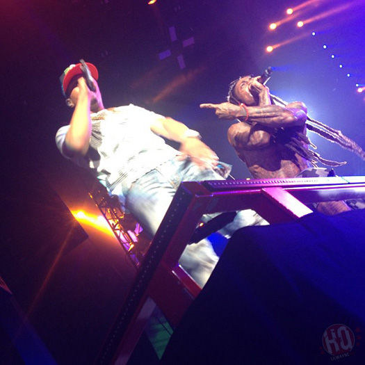 Lil Wayne Performs Live In Dallas On Americas Most Wanted Tour