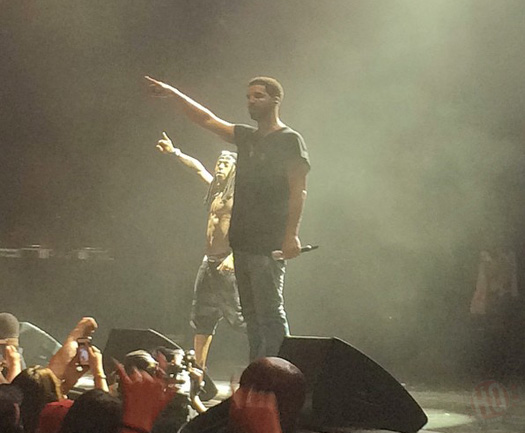 Lil Wayne & Drake Perform Live In Dallas Texas On Their Joint Tour