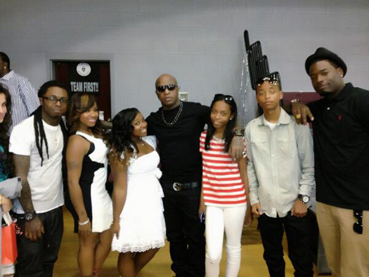 Lil Wayne Daughter Reginae Carter Graduates Middle School